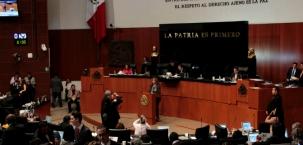 Reporte Legislativo, Senado de la República: Martes 2 de febrero de 2016