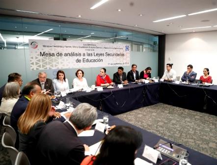 Comienza Senado análisis de Leyes Secundarias de Educación