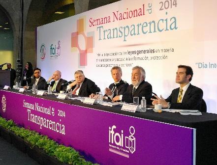 Legislación secundaria en materia de transparencia, este año: Encinas