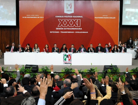 González Fernández presidirá comisión que postulará candidatos del PRI