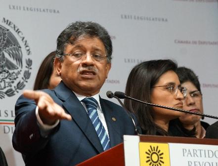 Plantea PRD reforma constitucional para crear Sistema Nacional Anticorrupción