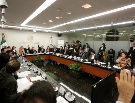 Crea Senado grupo para analizar propuestas de seguridad y justicia