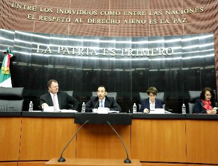 Comisión de Justicia del Senado avala terna para Tribunal Electoral