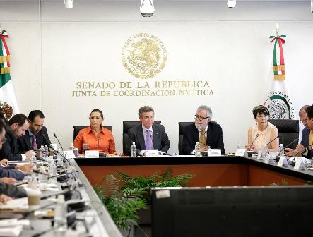Avalan comisiones del Senado ley contra desaparición forzada