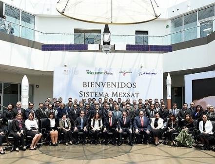 Toma el gobierno federal control operativo del sistema satelital MEXSAT