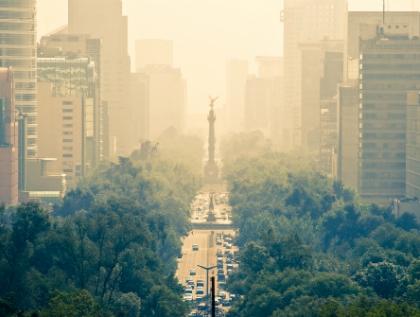 Viola contaminación atmosférica Derechos Humanos: CNDH
