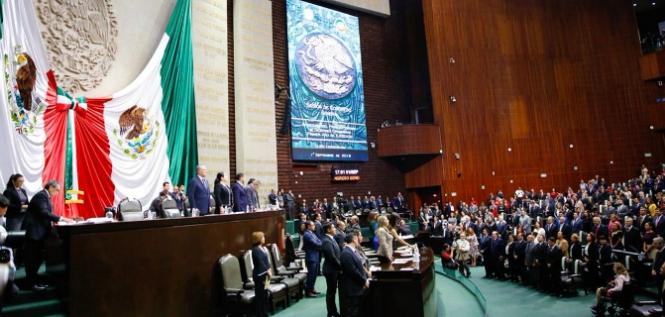 Reporte Legislativo, Congreso General: Sábado 1 de Septiembre de 2018