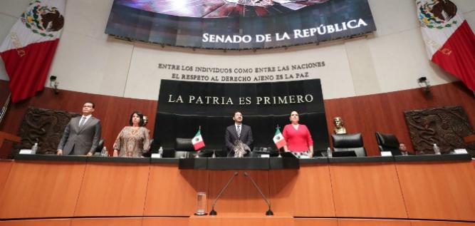 Reporte Legislativo, Senado de la República: Martes 11 de Septiembre de 2018