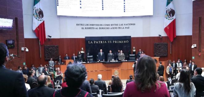 Reporte Legislativo, Senado de la República: Jueves 4 de Octubre de 2018
