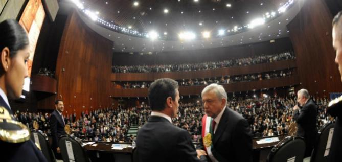 Reporte Legislativo: Sesión de Congreso General, Sábado 1 de Diciembre de 2018
