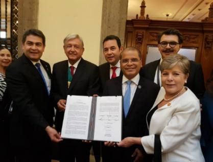 Acuerdan México, El Salvador, Guatemala y Honduras nuevo Plan de Desarrollo Integral