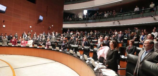 Reporte Legislativo, Senado de la República: Martes 4 de Diciembre de 2018