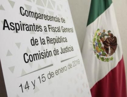 Comparecen ante Comisión de Justicia aspirantes a Fiscal General de la República