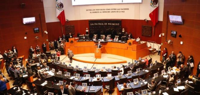 Reporte Legislativo, Senado de la República: Jueves 7 de febrero de 2019