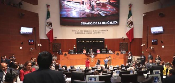 Reporte Legislativo, Senado de la República: Jueves 14 de marzo de 2019
