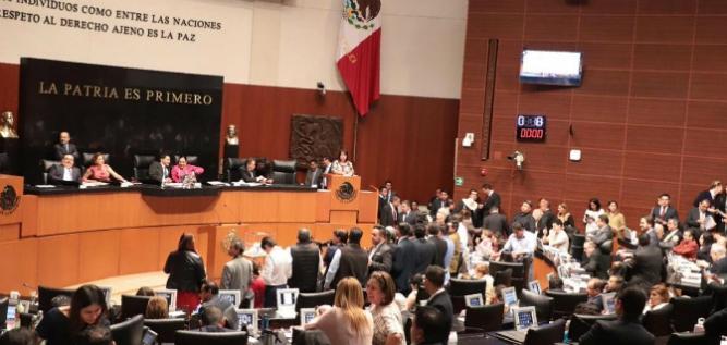Reporte Legislativo, Senado de la República: Martes 19 de marzo de 2019