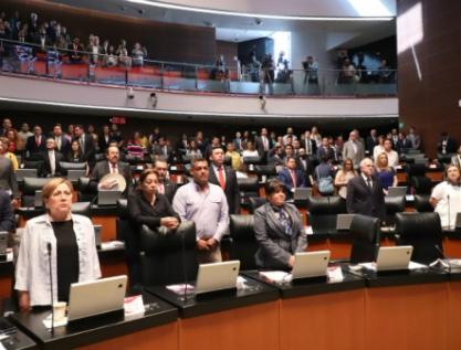 Recibe el Senado mismas ternas del Ejecutivo Federal para comisionados de la CRE