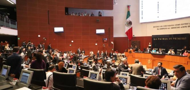 Reporte Legislativo, Senado de la República: Martes 9 de Abril de 2019