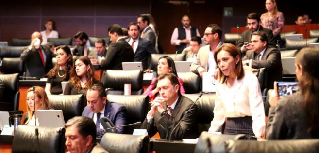 Reporte Legislativo, Senado de la República: Jueves 11 de Abril de 2019