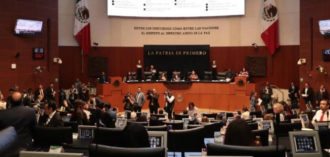 Reporte Legislativo, Senado de la República: Jueves 25 de Abril de 2019