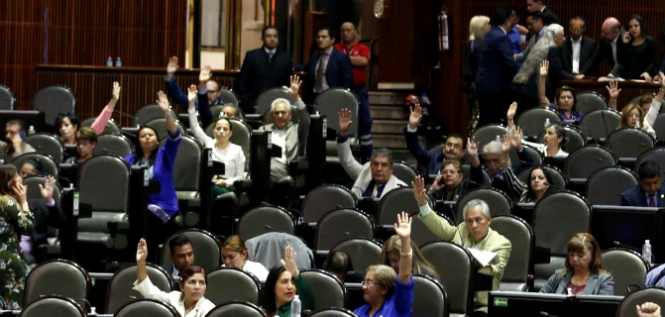 Reporte Legislativo, Cámara de Diputados: Lunes 29 de Abril de 2019