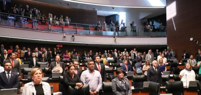 Reporte Legislativo, Senado de la República: Lunes 29 de Abril de 2019
