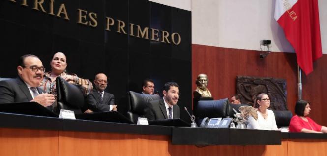 Reporte Legislativo, Senado de la República: Jueves 16 de Mayo de 2019