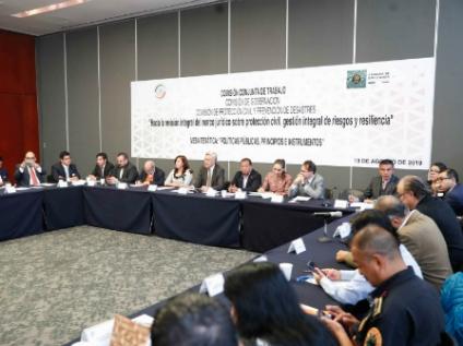 Por concluir, proyecto de Ley General para la Gestión Integral de Riesgos de Desastres y Protección Civil
