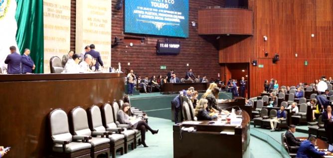 Reporte Legislativo, Cámara de Diputados: Miércoles 18 de Septiembre de 2019