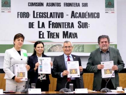 Defiende Morena Tren Maya de críticas;
