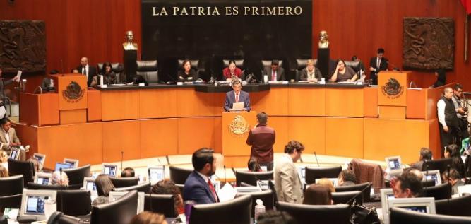 Reporte Legislativo: Senado de la República, Martes 8 de octubre de 2019