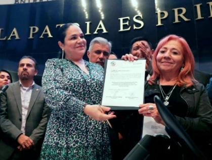 Rindió protesta Rosario Piedra Ibarra como presidenta de la CNDH