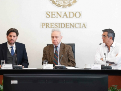 Ratifican en Comisión a Ángel Villalobos como representante de México ante la OMC