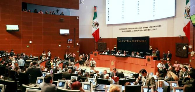 Reporte Legislativo, Senado de la República: Martes 3 de Diciembre de 2019