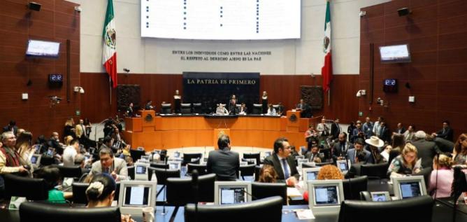 Reporte Legislativo, Senado de la República: Martes 25 de Febrero de 2020