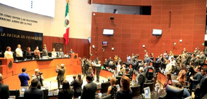 Reporte Legislativo, Senado de la República: Jueves 19 de Marzo de 2020