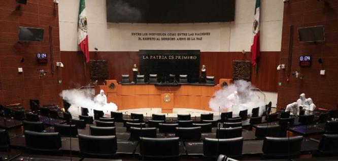 Reporte Legislativo, Senado de la República: Martes 24 de Marzo de 2020