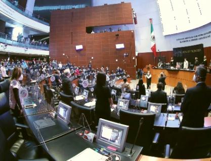 Restituyen a PES y PRD como fracciones parlamentarias en el Senado
