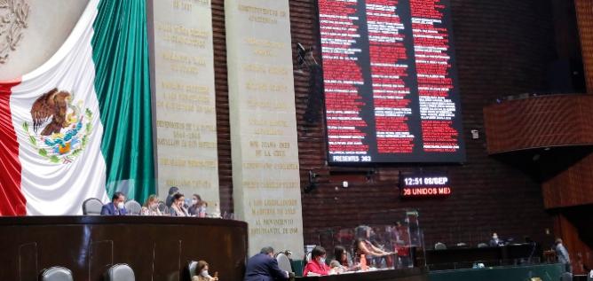 Reporte Legislativo, Cámara de Diputados: Miércoles 9 de Septiembre de 2020