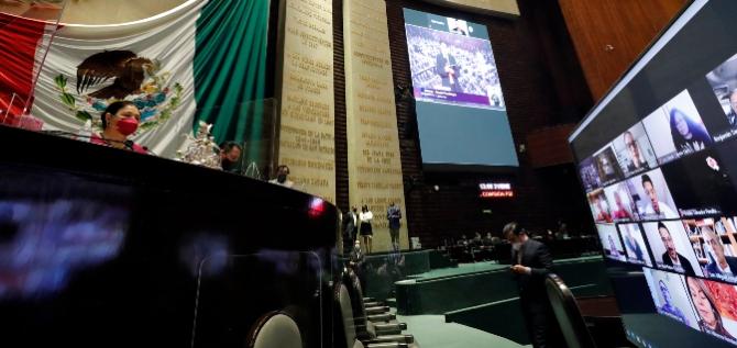 Reporte Legislativo, Congreso General: Lunes 1 de Febrero de 2021