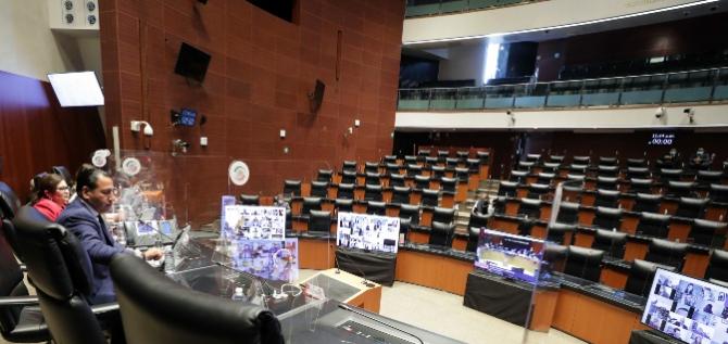 Reporte Legislativo, Senado de la República: Martes 16 de Febrero de 2021