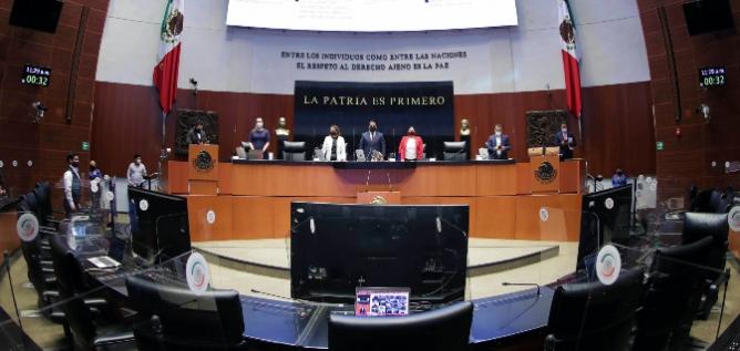 Reporte Legislativo, Senado de la República: Martes 23 de Marzo de 2021