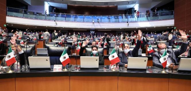 Reporte Legislativo, Senado de la República: Lunes 13 de Septiembre de 2021