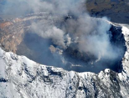 Erupción en el Popocatépetl, posible