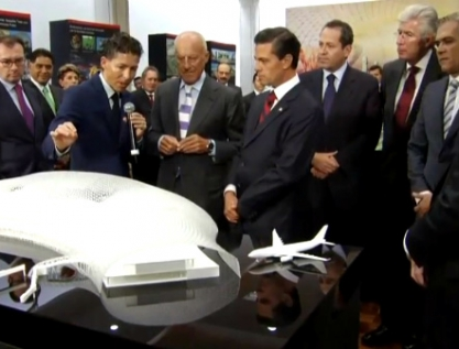 Primera fase del nuevo aeropuerto DF no se concluirá en esta administración