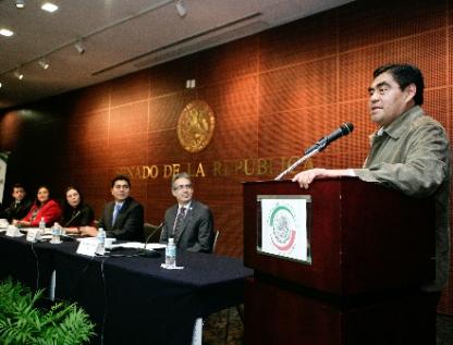 Convoca Barbosa a un acuerdo de estabilidad nacional