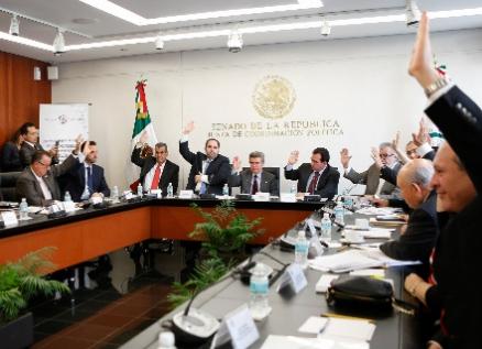 Aprueban comisiones del Senado minuta sobre deuda de estados y municipios