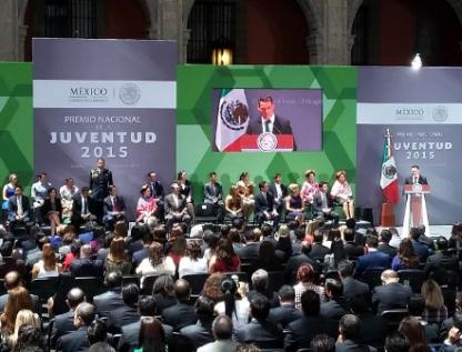 Declaran desierta categoría de DDHH en Premio Nacional de la Juventud