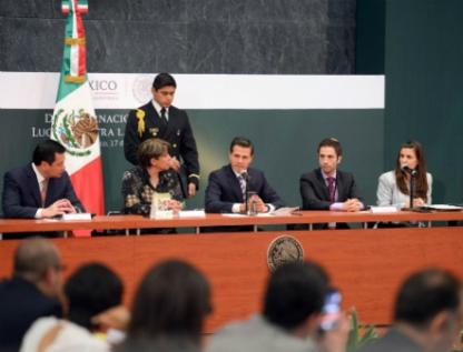 Envía Peña al Congreso iniciativa para incluir matrimonio gay en Constitución