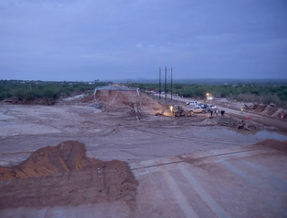 Inundaciones, por falta de infraestructura, basura, exceso de cemento y escasez de árboles